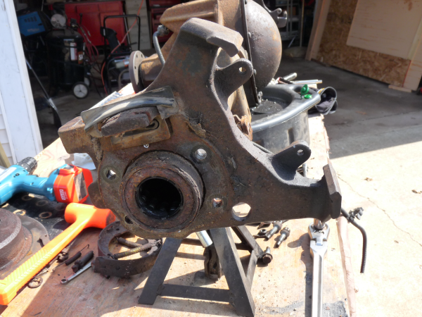 8.8 ford rear end for V8 beetle on s10 chassis