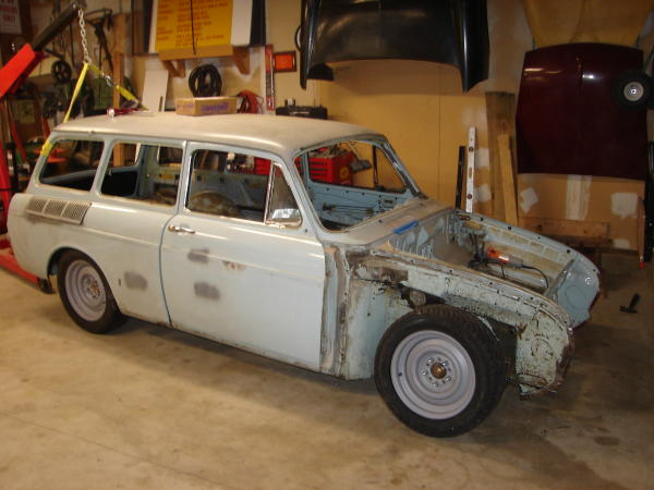 1969 V8 VW Squareback project