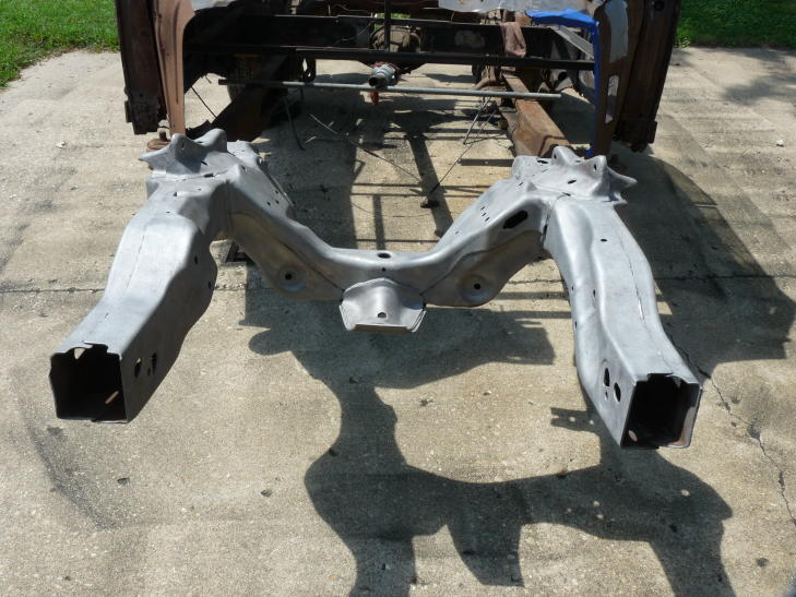 v8 bettle chassis getting undercoated with master series and hurculiner